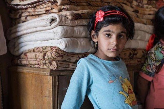 Aya, una niña de Mosul (Irak)