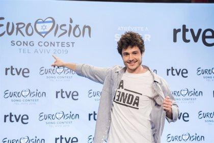 Miki, enloquece Eurovisión con su torso