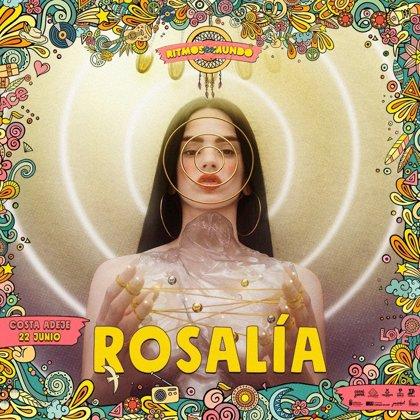 Rosalía actuará en Tenerife el 22 de junio en el festival Ritmos del Mundo