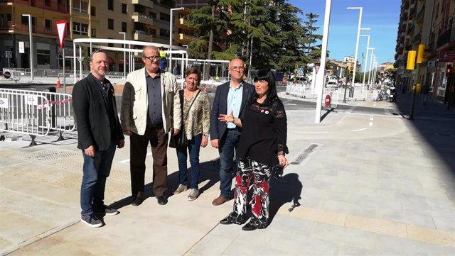 """26M.- El PSOE De Huesca Apuesta Por Un Plan De Movilidad """"Progresivo Y Sensato"""""""
