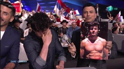 Los músculos de Miki en Eurovisión indignan a sus fans. ¿Tú que piensas?