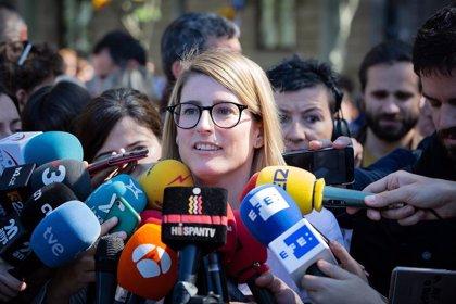 """Artadi (JxCat) avisa de que decidirán """"sin el chantaje de los socialistas"""" sobre la designación de Iceta"""
