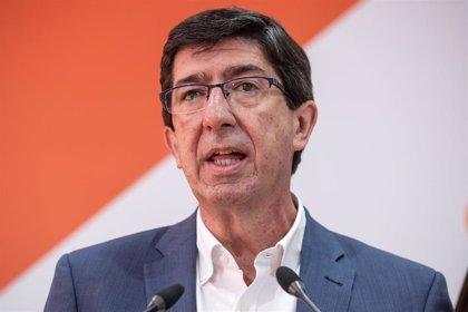 """Marín, """"optimista"""" ante el 26M: Cs """"volverá a crecer de manera espectacular"""" en Andalucía"""
