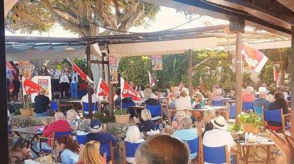 PSOE-Somos Mójacar organizan un mitin en inglés en un municipio con la mitad de sus residentes extranjeros