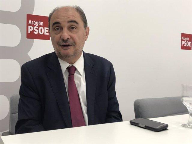 Lambán apoya la gestión de la Ejecutiva federal sobre el nombramiento de Iceta como presidente del Senado