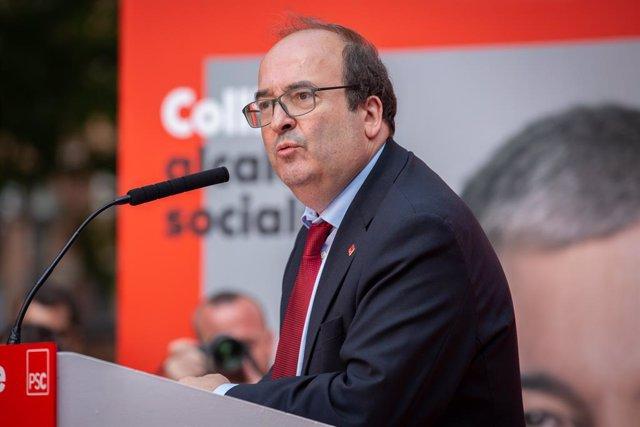Acte d'inici de campanya del PSC a Barcelona