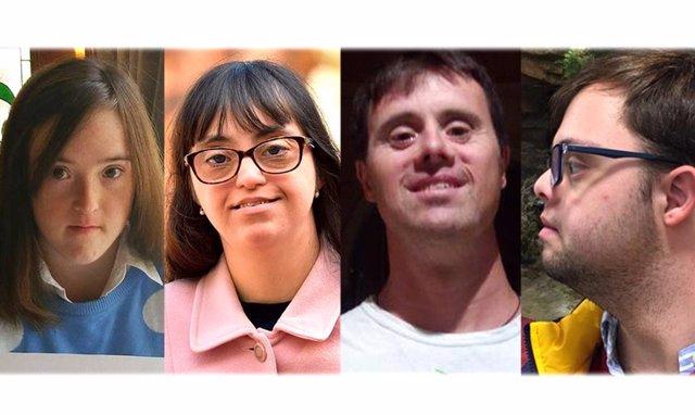 """26M.- Blanca, Susana, Carlos y Jesús, cuatro candidatos con síndrome de Down en las municipales: """"Tenemos ilusión"""""""