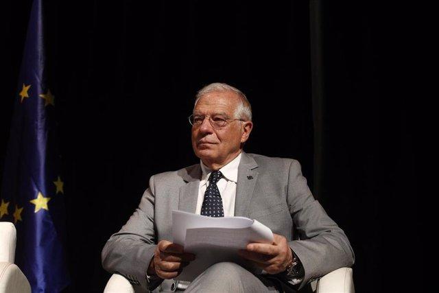"""26M.- Borrell dice que es """"inconcebible"""" que los independentistas veten que Iceta sea senador"""