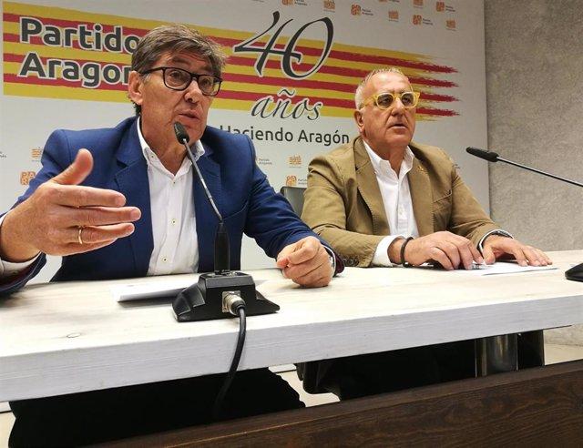 26M.- Aliaga (PAR) Propone Un Fondo De 50 Millones De Euros Para Revertir La Despoblación