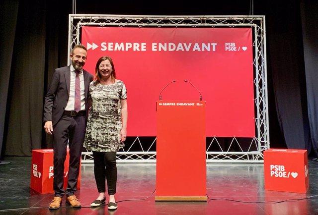 """26M.- Armengol Insisteix En La Mobilització De l'Electorat Perquè """"Cal Tornar A Omplir Les Urnes"""" El 26 De Maig"""