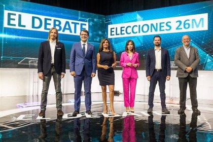 Un total de 228.000 espectadores siguieron el debate entre los candidatos a la Junta de CyL