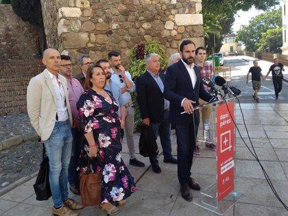 El PSOE propone un plan especial para la protección del patrimonio de Málaga que incluye actuaciones en La Alcazaba