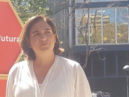 """Colau insta a la """"generosidad"""" y al diálogo ante la candidatura de Iceta al Senado"""