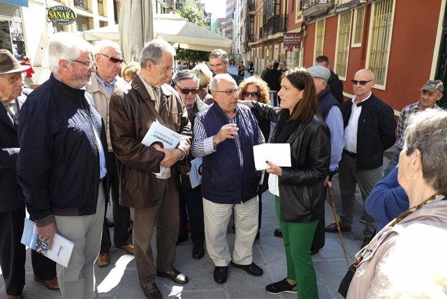 26M.- Igual Propone Renovar San Luis, Magallanes Y Su Entorno E Instalar Escaleras Mecánicas Hasta Juan XXIII