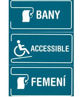 El Govern pone a disposición de bares y restaurantes letreros de señalización en catalán