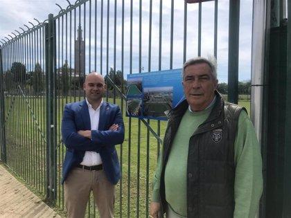 Gijón.- Muñiz se compromete a reformar las pistas polideportivas y las piscinas al aire libre de La Laboral