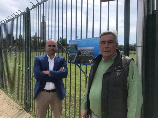 26M-M.- Gijón.- Muñiz Se Compromete A Reformar Las Pistas Polideportivas Y Las Piscinas Al Aire Libre De La Laboral