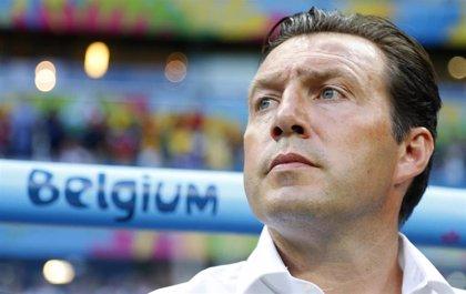 El belga Wilmots, nuevo seleccionador de Irán