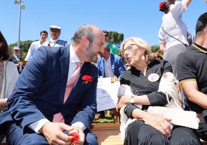 """Rollán reconoce que este año beberá """"un sorbito más"""" del agua de la Ermita ante los vaticinios de las encuestas"""