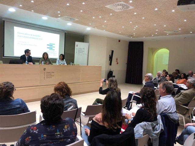Tur inaugura la jornada sobre proyectos culturales de la Eurorregión Pirineos Mediterráneo