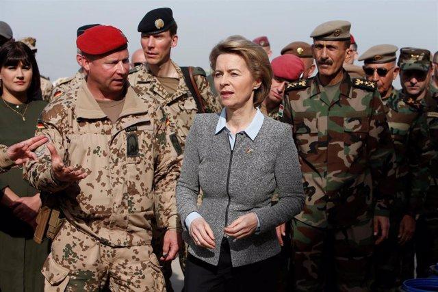 Irak.- Alemania suspende sus operaciones de entrenamiento en Irak por las tensiones