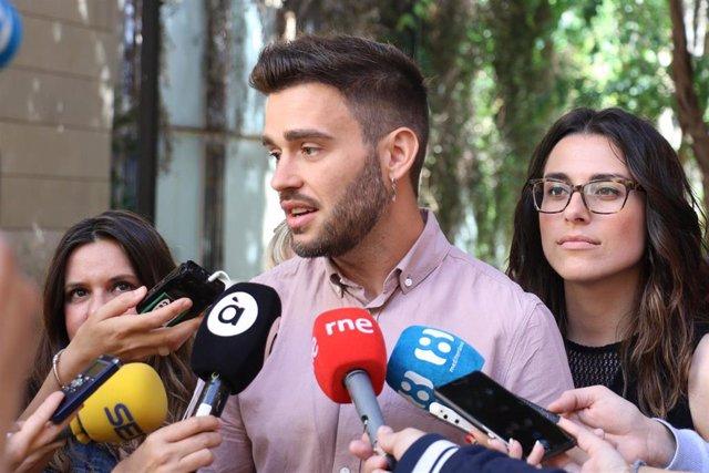 """Ferri admite que """"no sienta bien que se anuncien decisiones no aprobadas"""" por anuncio de que Morera presidirá las Corts"""