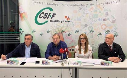 """CSIF exige las 35 horas en CyL de forma """"inmediata"""" porque """"ya no valen excusas"""" tras cumplir la regla de gasto"""