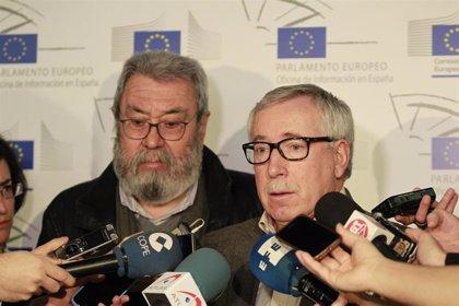 """Cándido Méndez y Fernández Toxo """"conversan"""" este jueves en Logroño sobre 'Europa Social y elecciones'"""