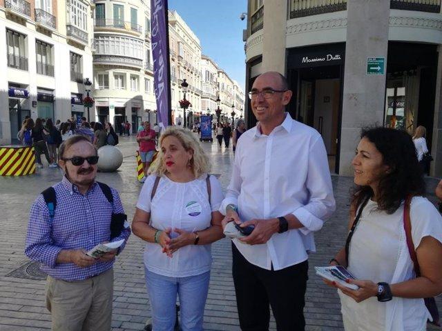 Málaga.- 26M.- Adelante se compromete a realizar un mayor control del sector turístico en el centro de Málaga