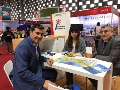 La Comunitat Valenciana promociona su oferta turística en dos ferias turísticas en Shanghái y Taipéi