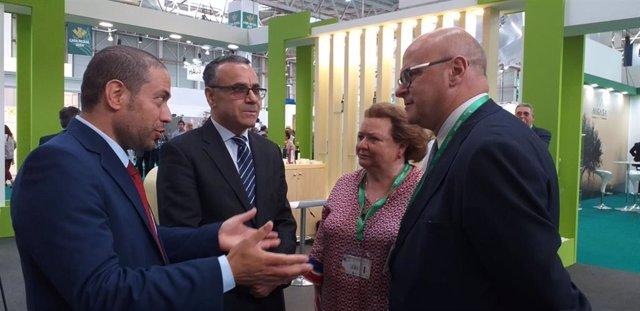 Jaén.- MásJaén.- Diputación da la bienvenida a las embajadas y delegaciones comerciales presentes en Expoliva 2019