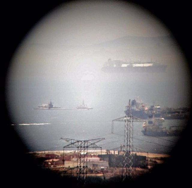 Cádiz.- Ecologistas advierte de la llegada a Gibraltar del submarino nuclear norteamericano 'USS Olympia'