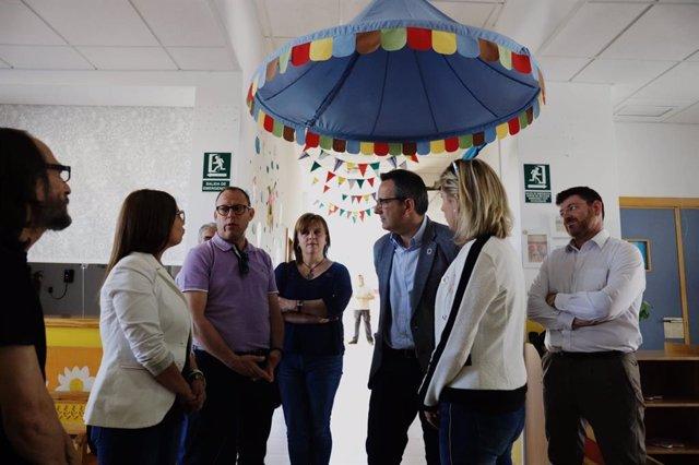 Diego Conesa se compromete a crear 9.000 plazas de educación de 0 a 3 años en cuatro años y aumentar la inversión