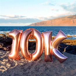 El perfil de El Hierro en Instagram llega a los 10.000 seguidores