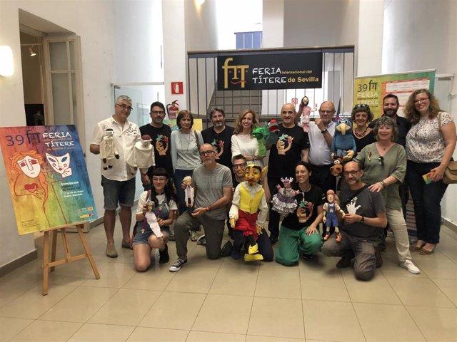 Sevilla.- La 39ª edición de la Feria Internacional del Títere arranca este viernes con la participación de 24 compañías