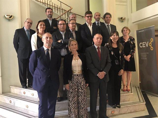 """La CEV tendrá una persona permanente en Bruselas para """"presionar"""" como lobby y """"ser útil"""" a la economía de la Comunitat"""