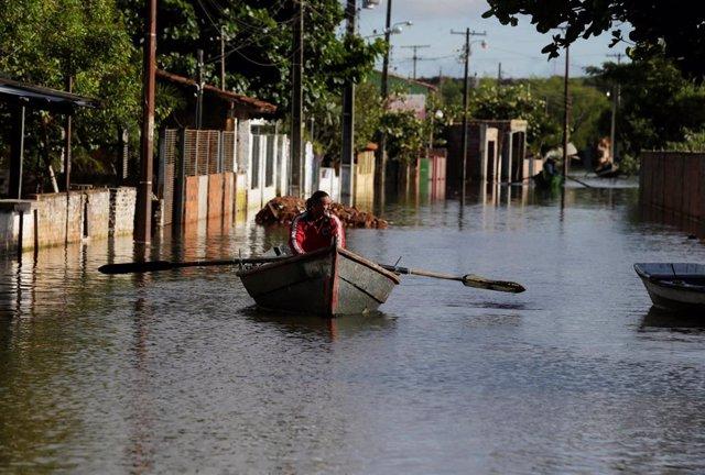 Paraguay.- Más de 40.000 desplazados por las inundaciones en Paraguay