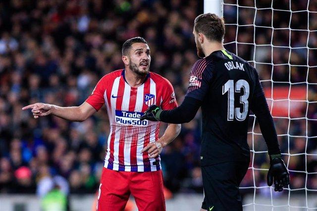 """Fútbol.- Koke: """"Siempre que venimos al Camp Nou nos pasa algo"""""""
