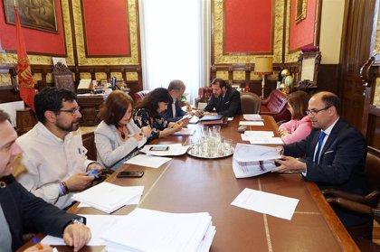 El Ayuntamiento de Valladolid amplía hasta el 30 de mayo el plazo para la conclusión de las obras de la Plaza Mayor