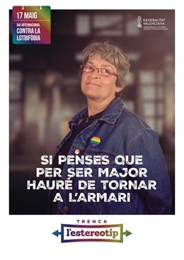 Personas mayores protagonizan una campaña de Igualdad para romper estereotipos y combatir la LGTBIfobia