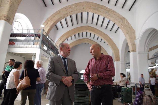 Sevilla.- Villalobos visita Guadalcanal y revisa actuaciones impulsadas con programas de la Diputación