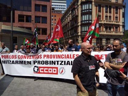 """CCOO reprocha a la FEVM la ausencia de """"movimientos reales"""" que evidencien su voluntad de lograr un convenio """"digno"""""""