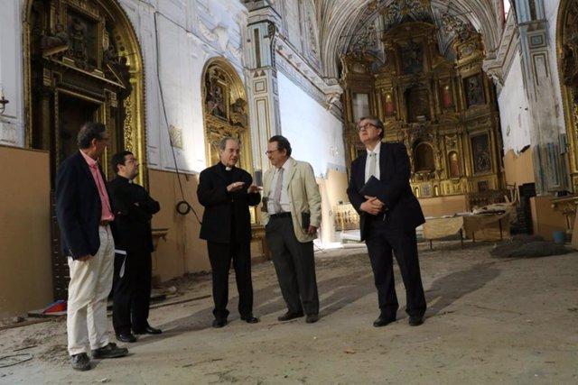 Sevilla.-La Archidiócesis acometerá las obras en la iglesia de Santa Clara en el último trimestre del año