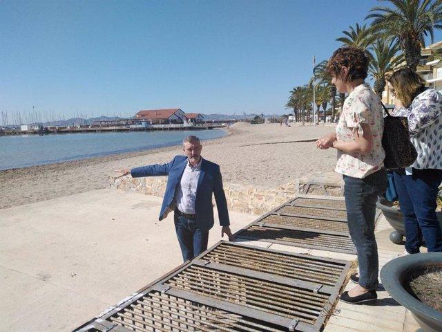 """Podemos """"El Mar Menor y su comarca no soportarán cuatro años más del PP"""""""