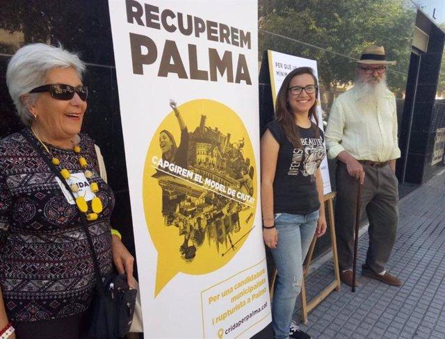 Crida per Palma proposa implementar un salari mínim de ciutat 1.400 euros