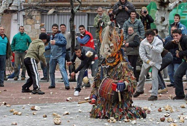 El Carnaval Hurdano, Jarramplas y Carantoñas, estarán presentes en el el festival de Máscara Ibérica en Lisboa