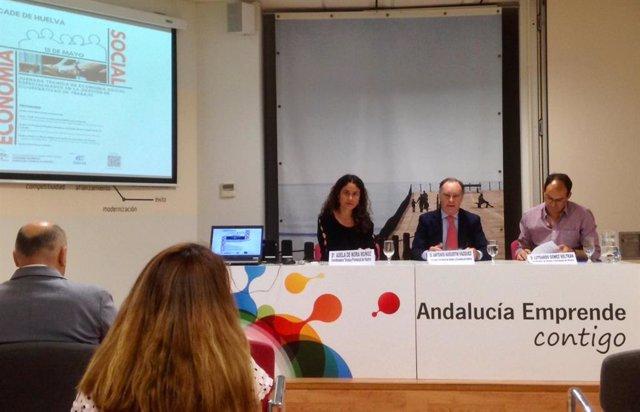 Huelva.- El delegado de Empleo acude a una jornada sobre sociedades cooperativas de trabajo de Andalucía Emprende
