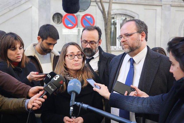 Segundo día del juicio del procés en el Tribunal Supremo