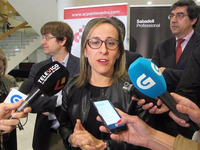 A conselleira de Infraestruturas destaca o incremento do 30% nos investimentos en...