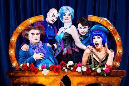 La compañía Yllana y Rami Eldar interpretan este sábado 'The ópera locos' en el Liceo de Salamanca